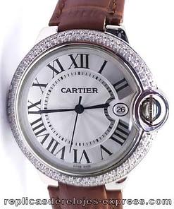 Cartier Ballon blue 01 mujer (33mm)