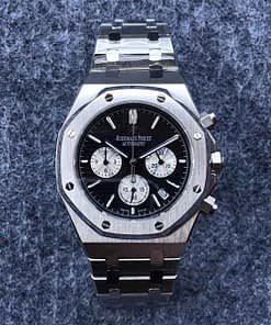 Audemars Piguet Royal oak 10 (41mm) Chronograph esfera negra
