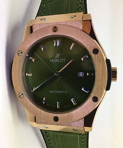 Hublot Classic Fusion 05 King gold verde y oro automático (42mm)