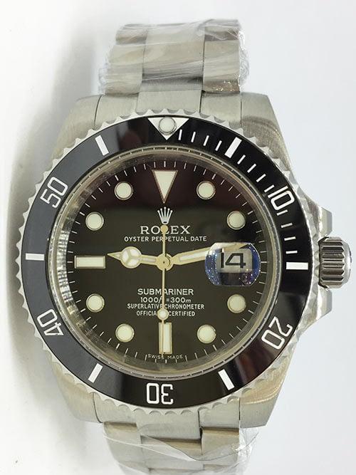 Replica de reloj Rolex Submariner 01 (40mm) 126610LN (Date) Oyster Esfera negra Automático.