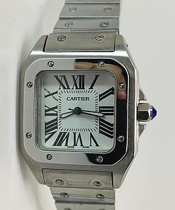 Cartier Santos 100H 01 mujer 37mm