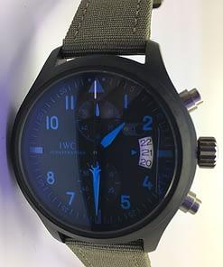 Iwc Pilot's Watch TOP GUN 04 Chronógrafo (44mm) caja negra/esfera negra