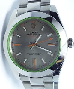 Replica de reloj Rolex Milgauss 05 116400GV (40mm) automático,esfera gris