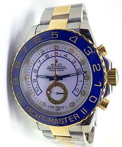 Rolex Yacht master ll 08 116681 (44mm) automático esfera blanca acero/oro