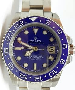 Rolex GMT-Master ll 03 (40mm) 116710 automático esfera azul