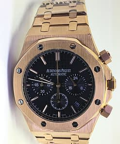 Audemars Piguet Royal oak 14 (41mm) Chronograph esfera verde (Oro)