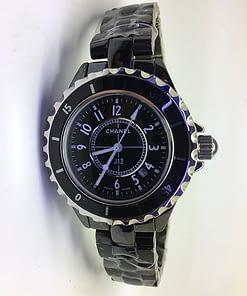 Chanel j12 08 (33mm) cerámica negra H0682