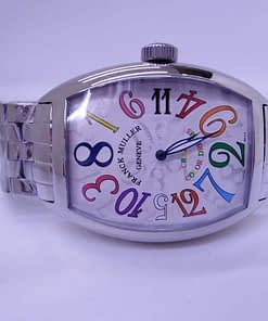 Replica de reloj Franck muller color dream 10 correa de acero