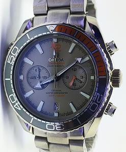 Venta de Replica Omega Seamaster 06 Planet Ocean 600M Omega Co‑Axial Master 215.90.46.51.99.001 Chronograph Titanium 45mm