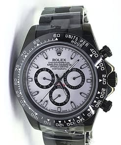 Rolex Daytona 10 (40mm) 116520 Automático blanco Black magic