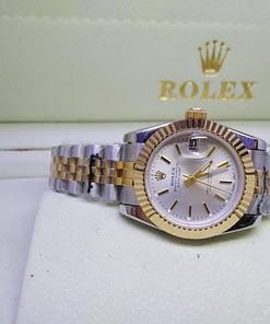Replica de reloj Rolex Datejust mujer 004 (31mm) Acero y oro,correa jubilee