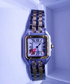 Cartier Panthere 04 S W2PN0006 (30mm) acero y oro (Copy)