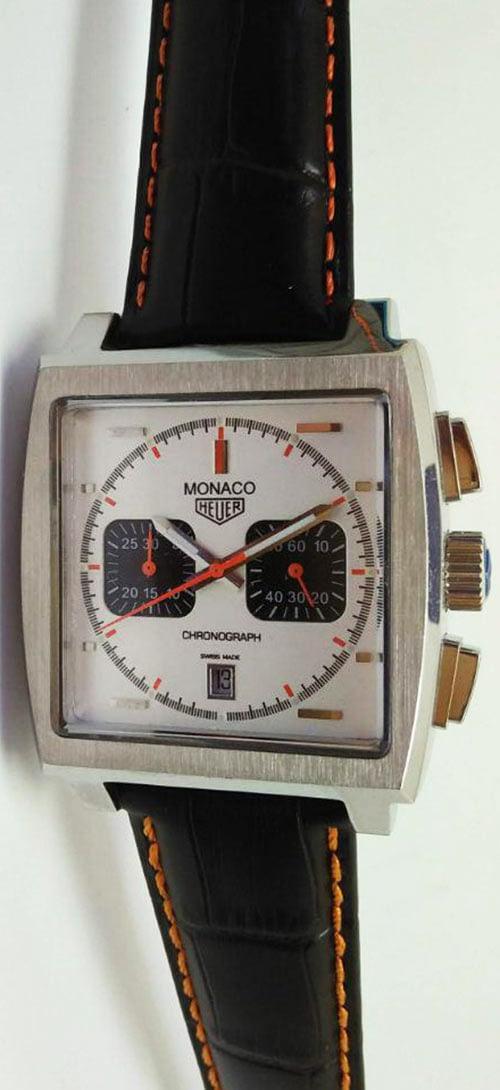 Tag heuer Monaco 06 esfera blanca