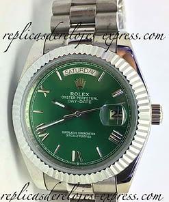 Rolex Daydate 10 (41mm) verde