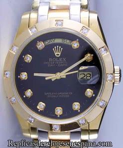 Rolex Daydate 07 (38mm) oro blanco y amarillo.