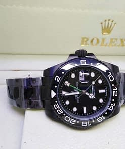 Rolex GMT-Master ll 08 (40mm) 116710LN automático esfera negra Black magic
