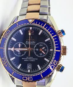 Venta de Replica Omega Seamaster 07 Planet Ocean 600M Omega Co‑Axial Master 215.20.46.51.03.001 Chronograph 45mm
