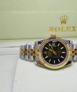 Replica de reloj Rolex Datejust mujer 006 (31mm) Acero y oro, correa jubilee