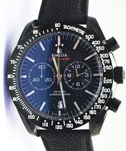 "Replica de reloj Omega Speedmaster 01  311.92.44.51.01.003  Moonwatch Omega Co‑Axial Chronograph 44mm ""Dark side of the moon"""