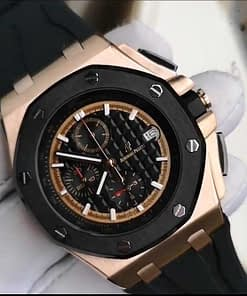 Venta de Replica de reloj Audemars Piguet Royal Oak Offshore Rubens Barrichello II 02 Oro